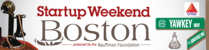 Boston Startup Weekend banner